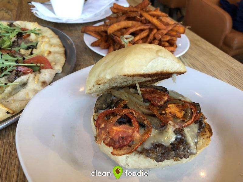 blue wagyu itomichi burger