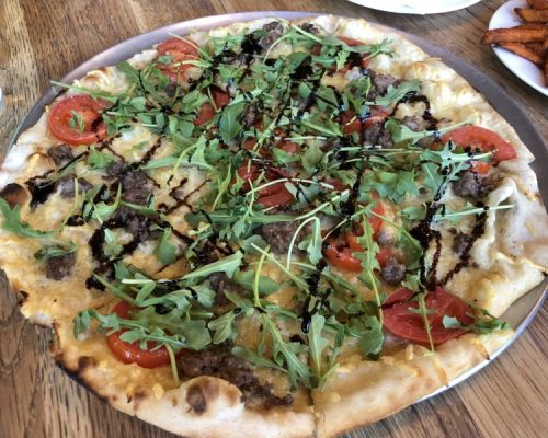 Blue Wagyu Pizza