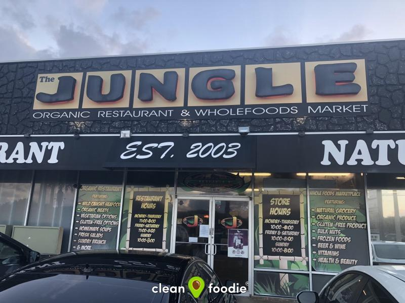 Grassfed burgers do not get more mouth watering than at Jungle Organic in Indialantic, Florida. No better place for clean eats AND clean groceries on the Space Coast.