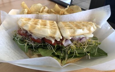 The Bald Strawberry Sandwich