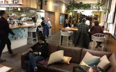 Picnik Flagship Dining Area