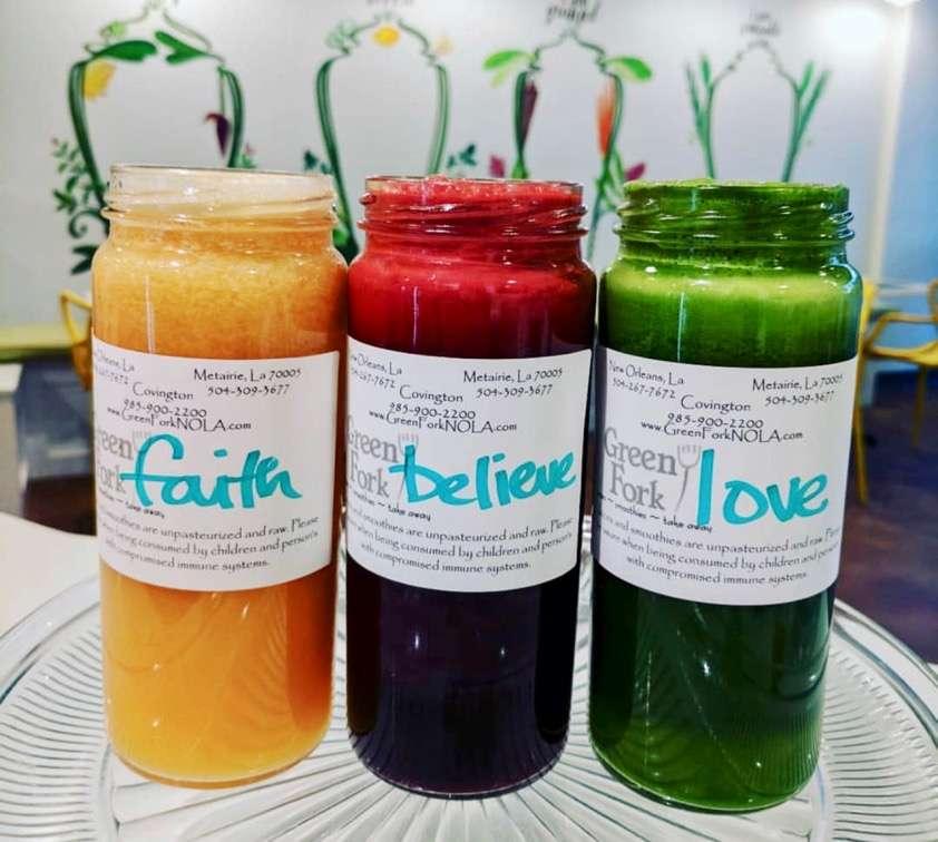 Green Fork NOLA Fresh Juices