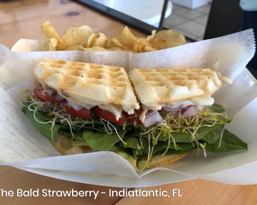 The Bald Strawberry Gluten Free Food, Indiatlantic Florida