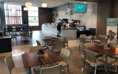 Nourish coffee bar + kitchen Interior