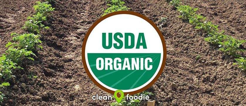 USDA Organic farming certification