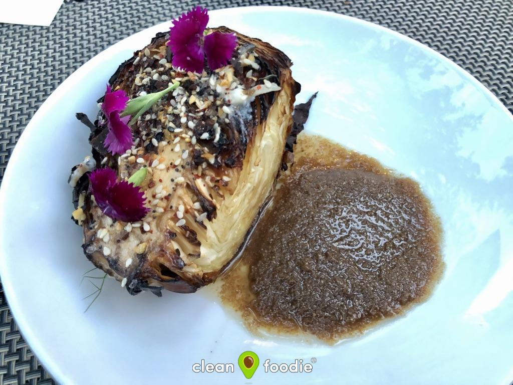 Miel Roasted Cabbage