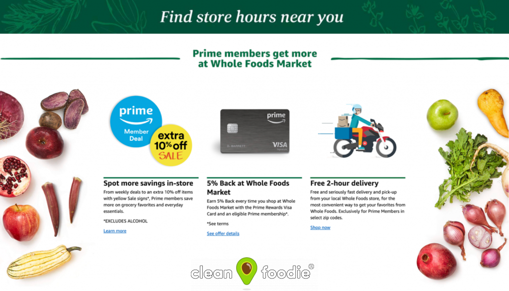 Amazon Prime Whole Foods Membership Trial