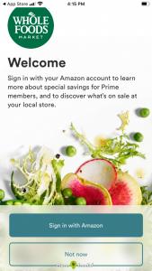 Whole Foods Phone App