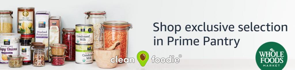 Amazon Pantry 365 Whole Foods