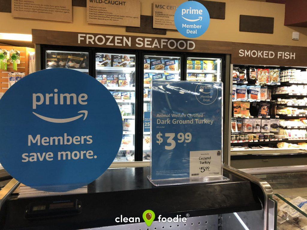 Whole Foods Prime Deals in Store