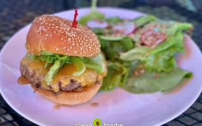 Heirloom Cafe 100% Grass-fed Burger