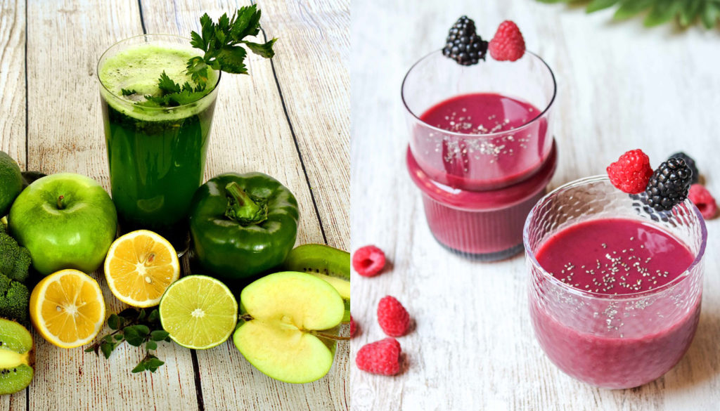 to Juice or to Smoothie